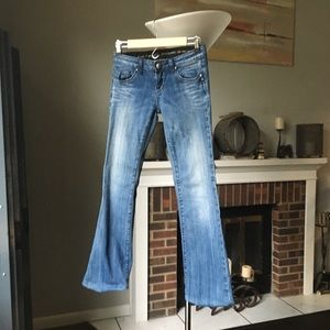 Rerock for Express boot cut jeans 0 R